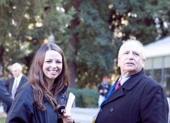Berardino (right) with Muir.