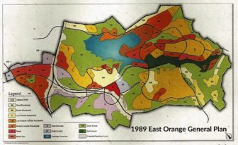 1989 East Orange General Plan allowed 12,350 houses, 348,000 daily car trips