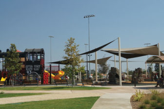 Stanton Central Park – The 11 acre Stanton Central Park boasts play equipment, sports fields, community rooms and more.