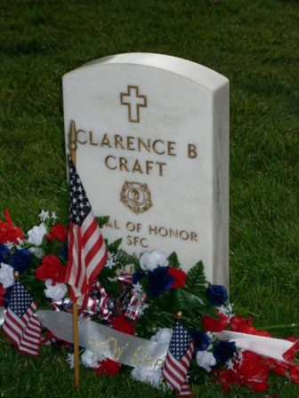 Clarence B Craft - Fayetteville National Cemetery - Fayetteville, Ar