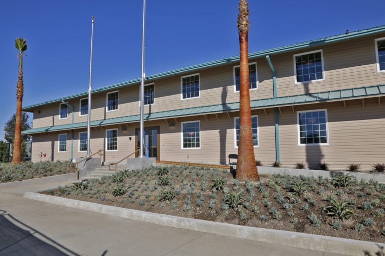 The Heroes Hall building is a remodeled two-story World War II barracks from the days when the current fairgrounds was part of the 1,300-acre Santa Ana Army Air Base training facility.