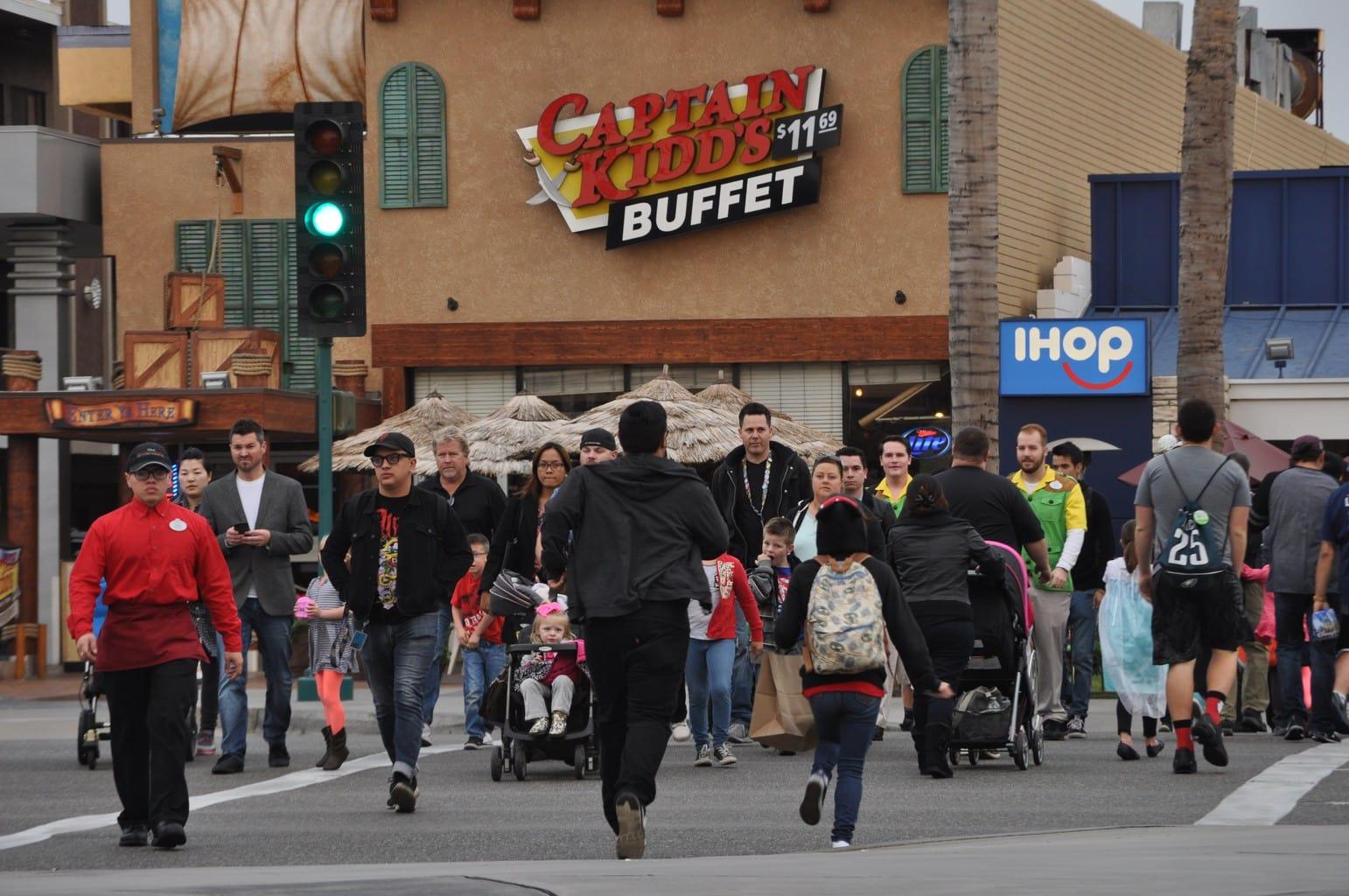 Anaheim Garden Walk Store Directory: Business Owners: Disney Foot Bridge Will Make Customers