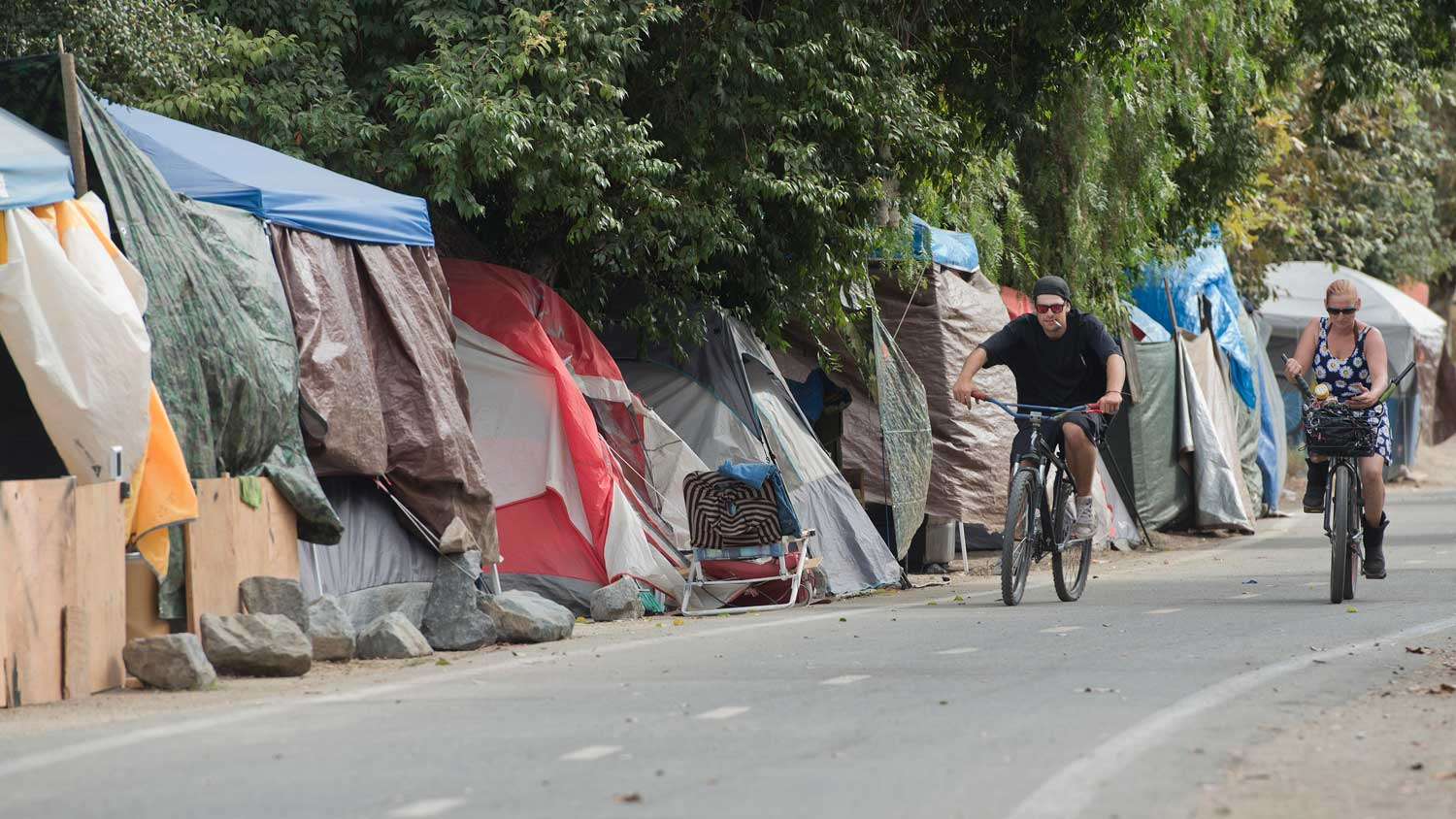 Santa Ana Wants County To Shelter Homeless People On
