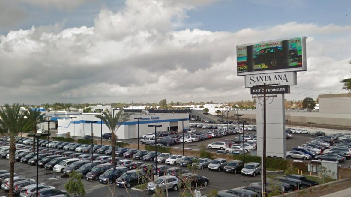Santa Ana To Pay 1 Million For Car Dealers New Digital