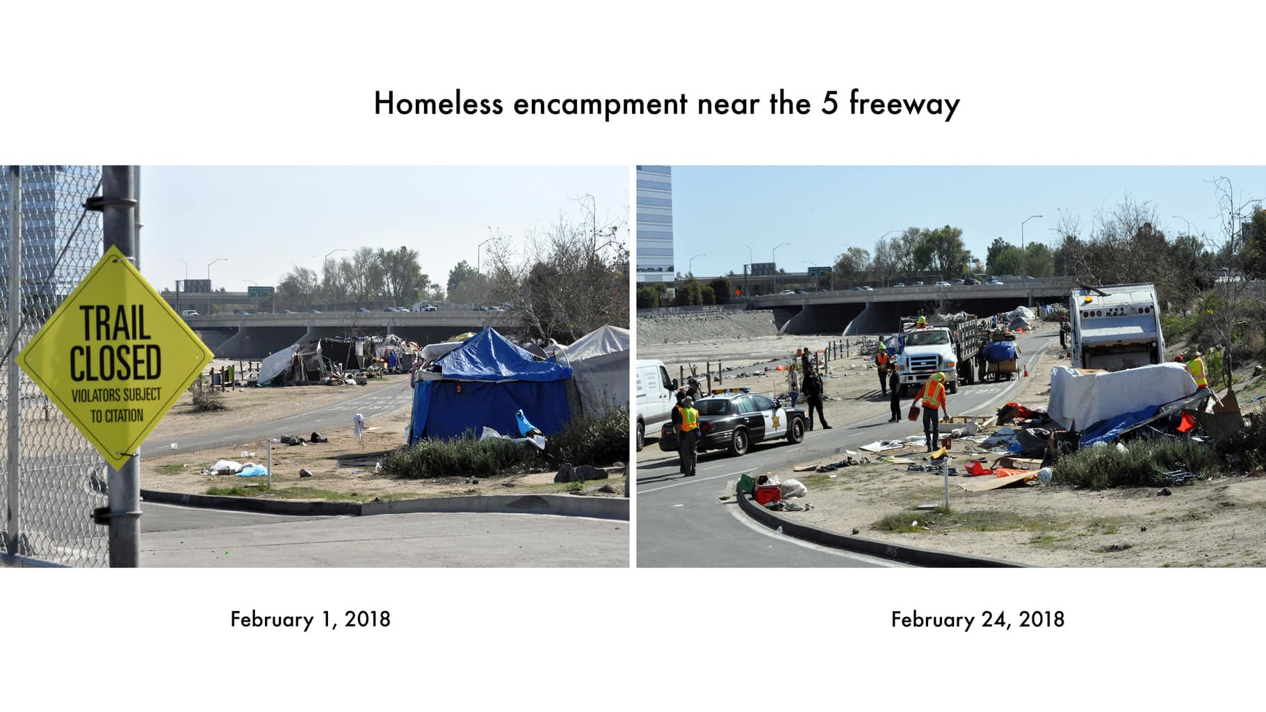 County Wraps Up Homeless Evictions At Santa Ana Riverbed
