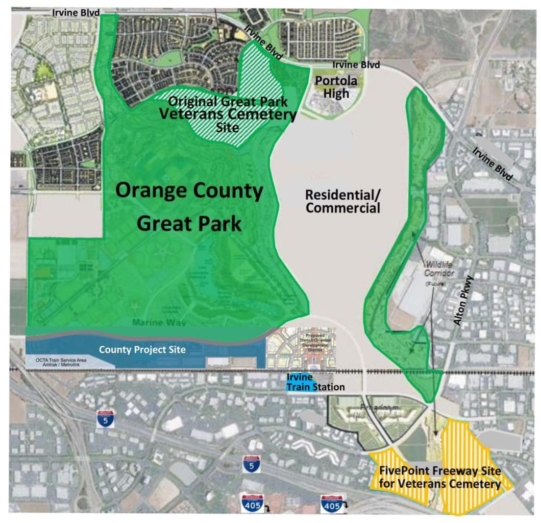 Example Site Plan Map: Liss: Original Veterans Cemetery Site Is Best Option For