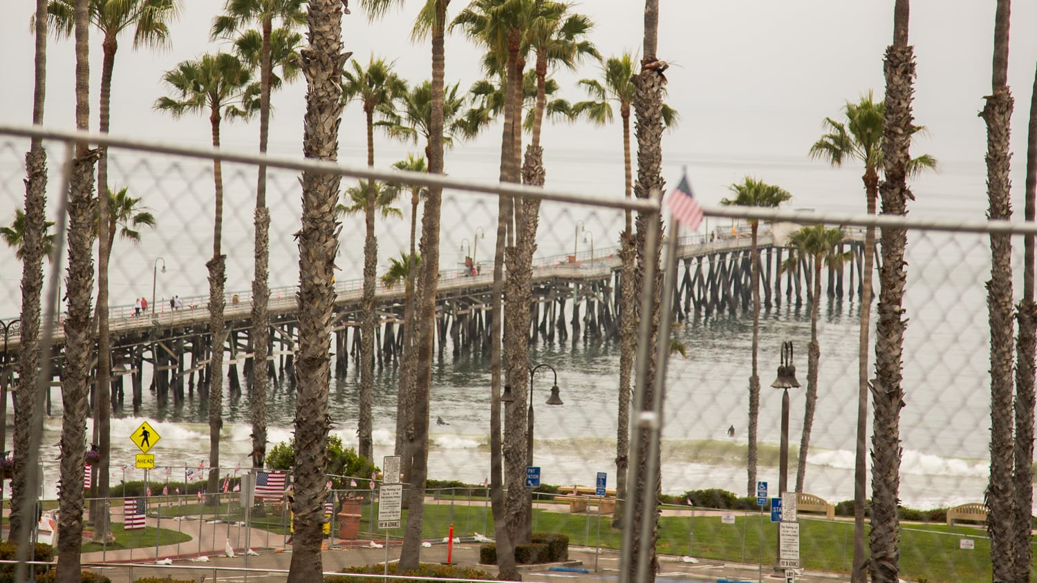 San Clemente Removes Beach Fencing After Pressure From The Sheriff's Department